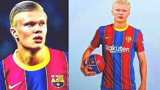 OMG! TRANSFER BOMB! ERLING HAALAND to BARCELONA! And MESSI WILL STAY, if LAPORTA win elections!