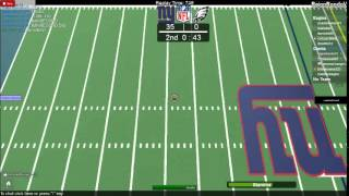 ROBLOX NFL 100 Yard Pass