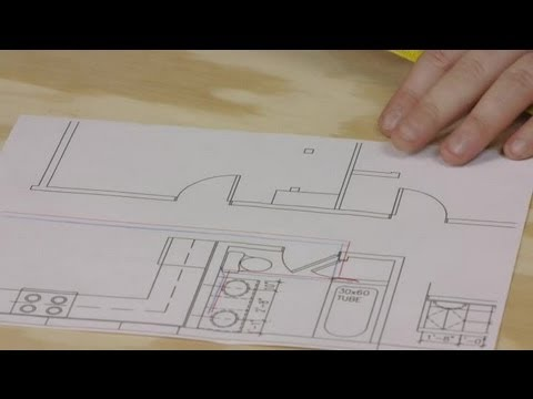How to Draw Plumbing Lines on a Floor Plan : Plumbing Repairs  YouTube
