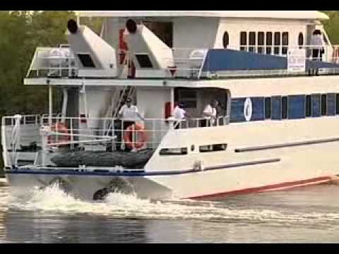 Fast passenger vessel of A45-1 project -- Maharaja Technology