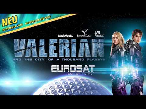 """Eurosat Coastiality"" & Luc Besson ""Valerian and the City of a Thousand Planets"
