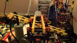 Self Activated K'nex Ball Machine Update/k'nex Grandfather Clock 2015 With Chimes And Self Winding