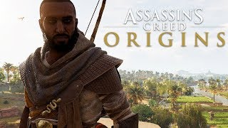 Assassin's Creed Origins - How to Add/Remove Bayek's Beard & Hair! [Tutorial]