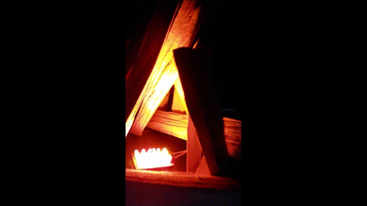 Flackerlicht 1 x 3 LEDs 3mm brandflackern Feuer brennendes Haus Feuerschein #2