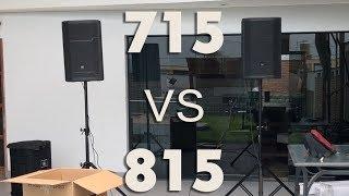 JBL PRX715 vs JBL PRX815