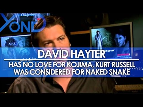 David Hayter Has No Love for Kojima, Kurt Russell Was Considered for Naked Snake