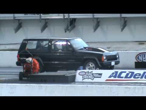 Jeep Cherokee Drag Youtube