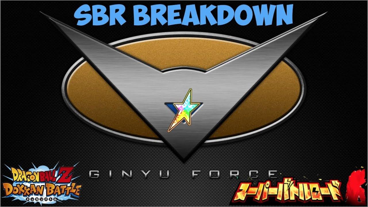 Ultimate F2p Ginyu Force Members Super Battle Road Breakdown Dbz