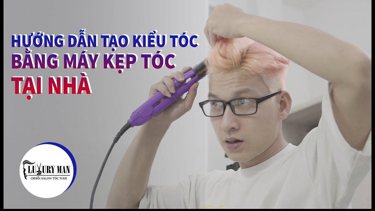 LUXURYMAN l Tạo Kiểu Tóc Đẹp Bằng Máy Kẹp Tóc | Tổng hợp những thông tin về kiểu tóc nam mái bằng đầy đủ