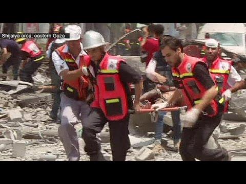 Gaza: scores die in bloodiest day of Israeli offensive