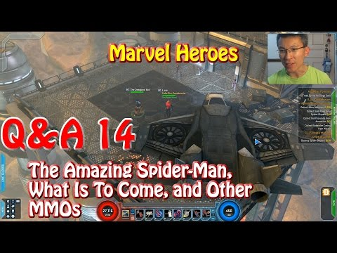 Marvel Heroes Q&A: The Amazing Spider-Man, Upcoming News, and Vs Other MMOs