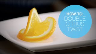 How to make a Double Citrus Twist | Canadian Living