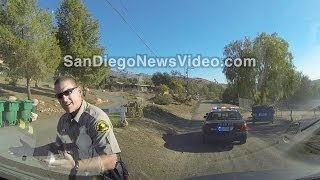 Deputy Alleges Media Failed To Yield - Dashcam Proves Otherwise, Lakeside