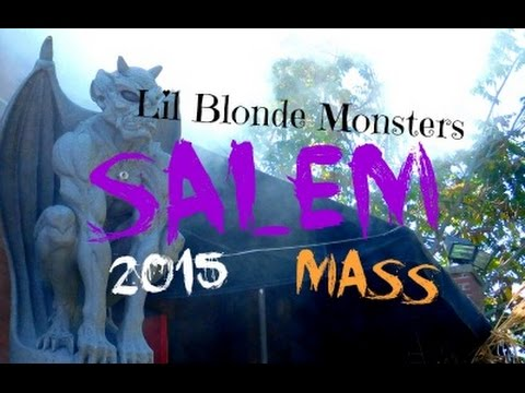 Local history and spooky fun in SALEM, MASS 2015!!!