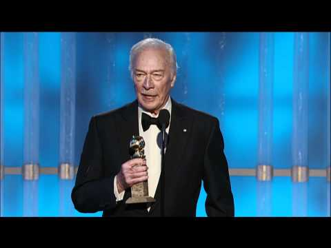Christopher Plummer Wins Best Supporting Actor Motion Picture 