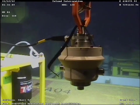 Subsea Vibration Monitoring - Stand alone data logging