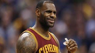 Cleveland Cavaliers' LeBron James response to Carolina Panthers' Cam Newton
