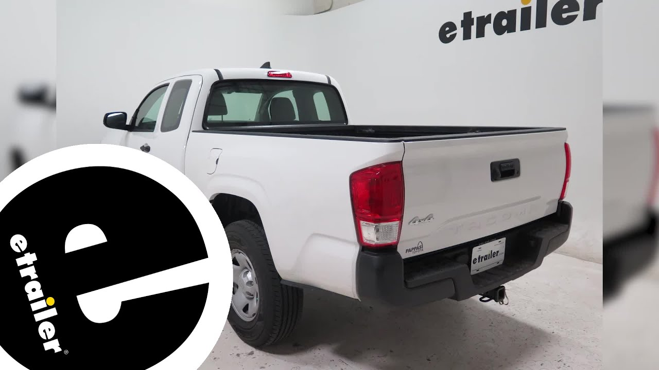 Weathertech mats toyota tacoma - Installation Of The Weathertech Techliner Truck Bed Mat On A 2016 Toyota Tacoma Etrailer Com