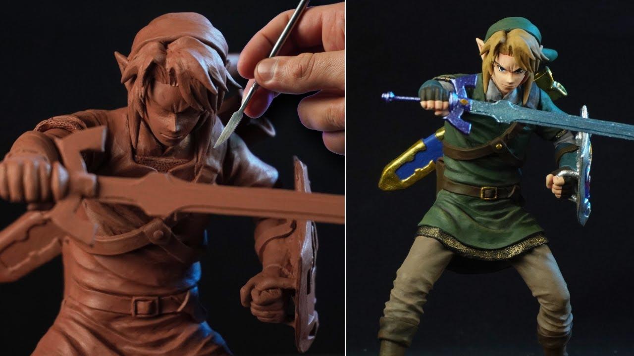 Sculpting LINK | The Legend Of Zelda - [ Ocarina Of Time ]