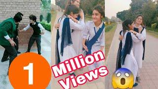 Inside Punjab College Students Girls Boys TikTok Musically Video Part 6 | Lahore College Girls Boys