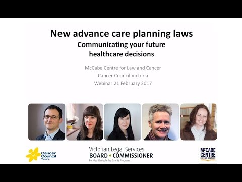 Advance Care Planning Webinars | Cancer Council Victoria