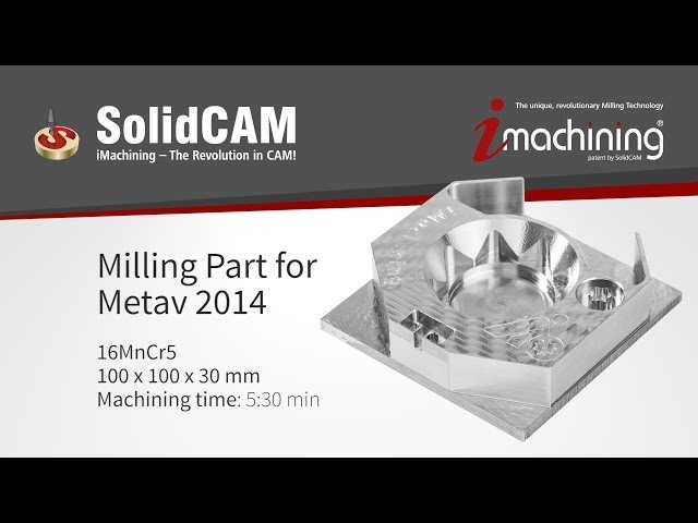 iMachining METAV 2014 Freesonderdeel