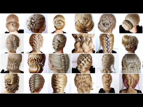 25-updos-perfect-for-the-holidays-||-easy-hairstyles-||-quick-hairstyles-||-cool-hairstyles-||