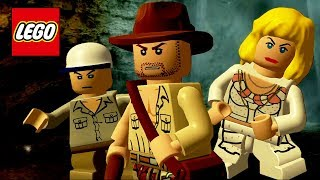 LEGO Indiana Jones and the Temple of Doom All Cutscenes (Game Movie) 1080p 60FPS