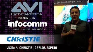 Visita a Christie durante  InfoComm Orlando 2019