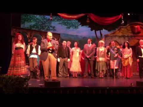 Curtain call Ohio Light Opera Maritza