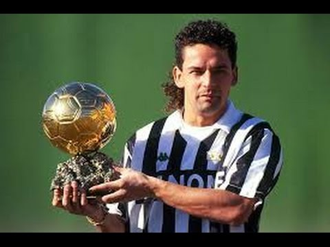 Roberto Baggio Il Pallone D Oro 1993 Youtube