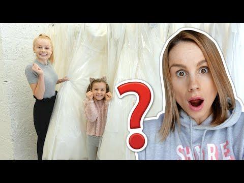 KIDS CHOOSE MY WEDDING DRESS!