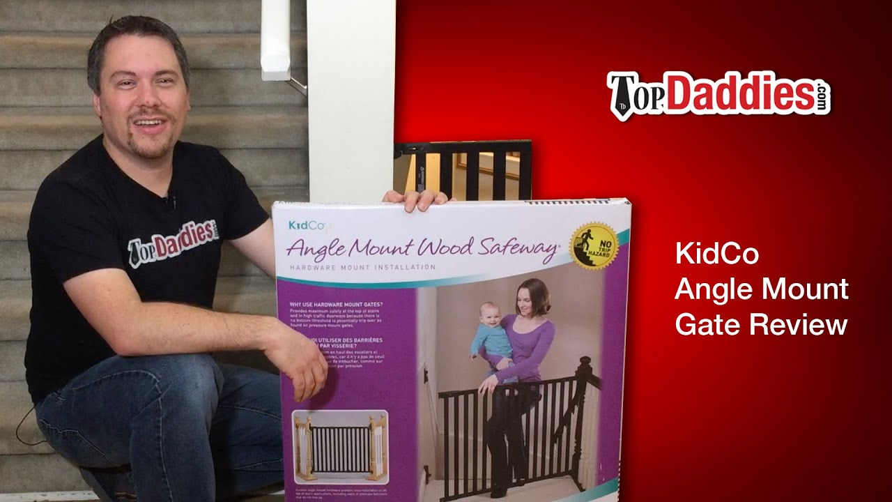 Kidco Angle Mount Wood Safeway Baby Gate Review   YouTube