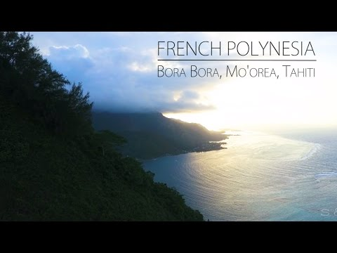 French Polynesia from Above - Bora Bora, Mo