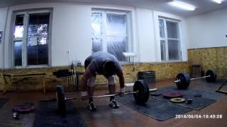 Тяжелая атлетика - толчок 3+3+2