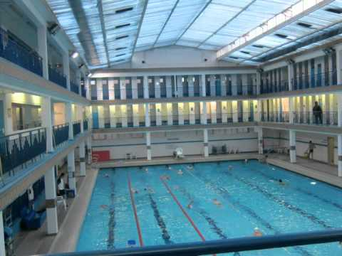 Piscine pontoise quartier latin paris par saigonnais for Piscine pontoise