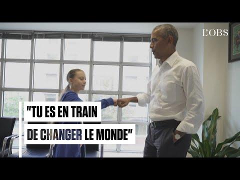 "Barack Obama reçoit Greta Thunberg : ""On forme une équipe"""