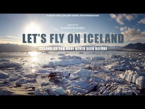 LET's FLY ON ICELAND - Aerial view of Iceland from a Phantom 2 DRONE