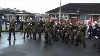 Haka Funeral Farewell for NZ Long Tan Veteran Morrie Stanley - Vietnam War