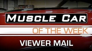Muscle Car Of The Week Video Episode #139:   Salute To Original Owners & Viewer Mail