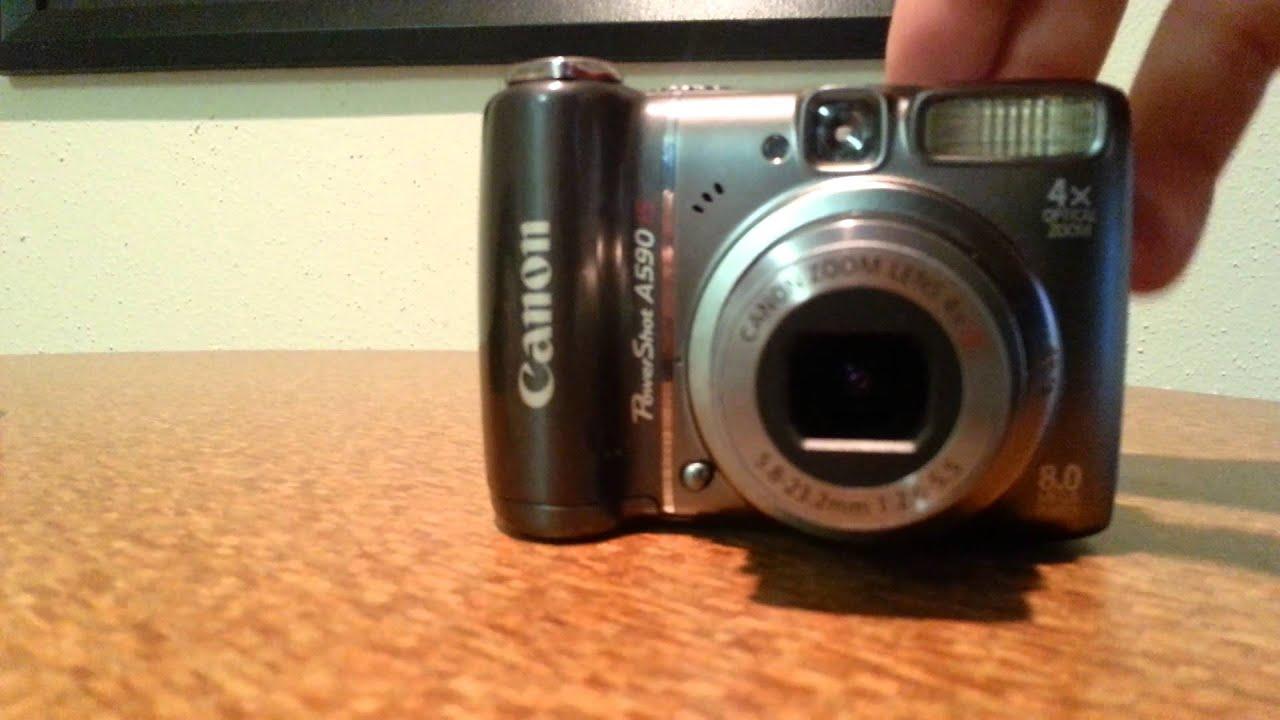 Canon PowerShot A590 IS 80 MP Digital Camera