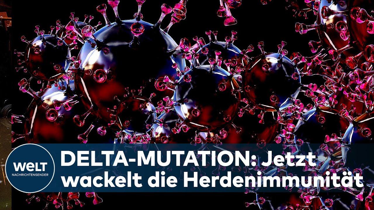 Download DELTA-MUTATION: Corona-Variante auf dem Vormarsch - Experten warnen: Herdenimmunität wackelt!