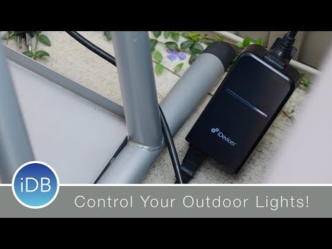 iDevices HomeKit Outdoor Switch can Control Your Holiday Lights