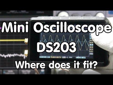 #92 DSO203 / DS203 Mini Oscilloscope Review