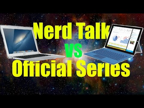Surface Pro 3 vs MacBook Air - Perfect Competition | Nerd Talk E5