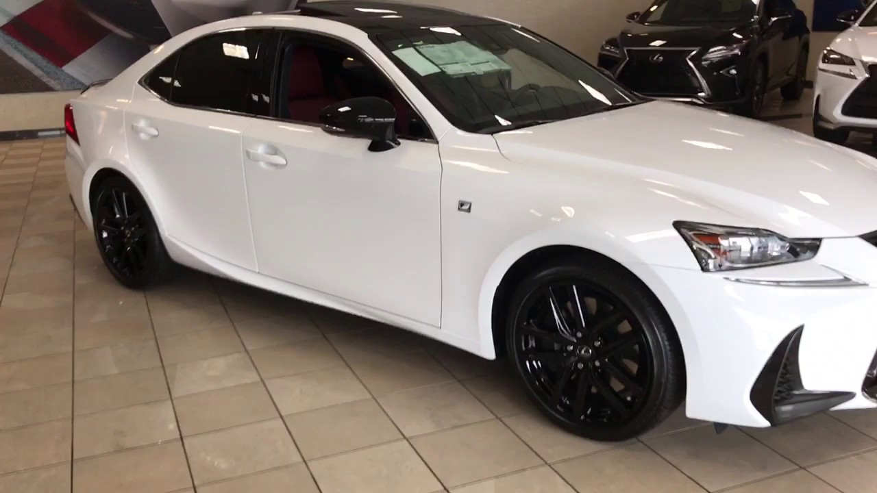 2017 Lexus Is 300 F Sport Blackout Package