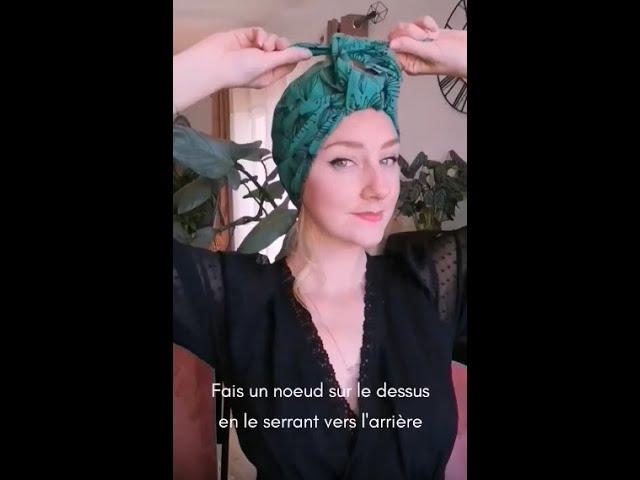 Le Turban Ajustable
