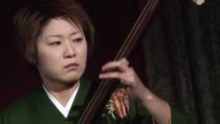 2月14日にホテル日航東京で開催された「西和賀の夕べ」での三味線奏者・...