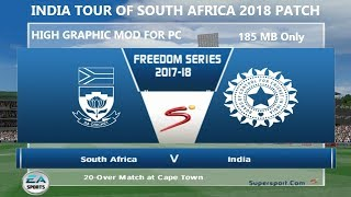 India Tour of South Africa 2018 Patch for Cricket 07 Released (Download + Installation)