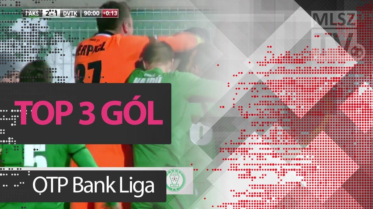 TOP 3 GÓL – 20. forduló| OTP Bank Liga | 2017/2018 | MLSZTV